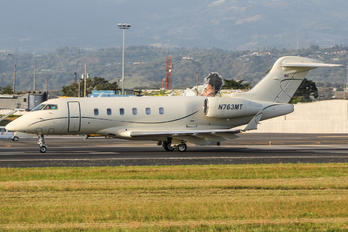 N763MT - Private Bombardier BD-100 Challenger 300 series