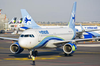 XA-INJ - Interjet Airbus A320