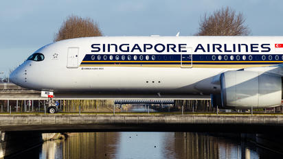 9V-SMB - Singapore Airlines Airbus A350-900