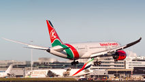 5Y-KZA - Kenya Airways Boeing 787-8 Dreamliner aircraft