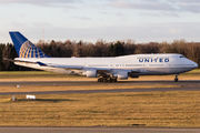 N104UA - United Airlines Boeing 747-400 aircraft