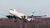 D-AEWF - Eurowings Airbus A320 aircraft