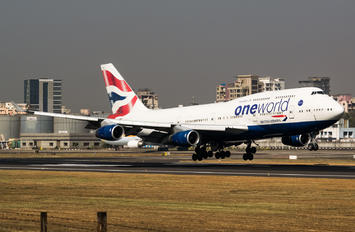 G-CIVZ - British Airways Boeing 747-400