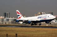 G-CIVZ - British Airways Boeing 747-400 aircraft