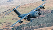 RAF A400 - First Time through the Mach Loop title=