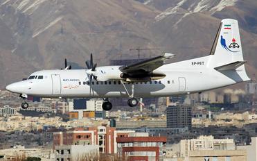 EP-PET - Naft Airlines Fokker 50