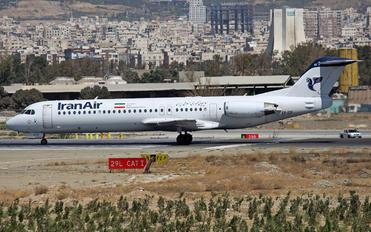 EP-IDF - Iran Air Fokker 100