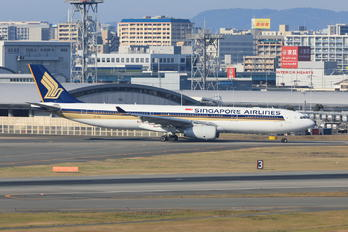 9V-SSG - Singapore Airlines Airbus A330-300
