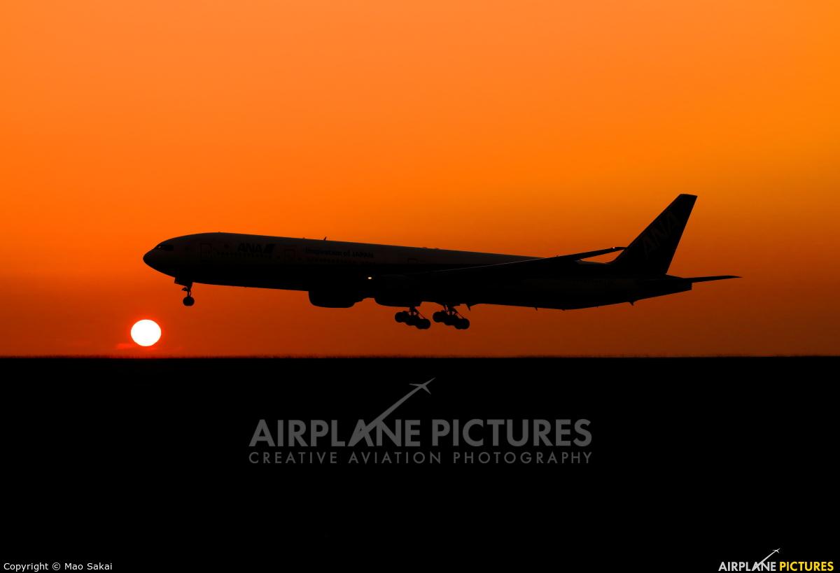 ANA - All Nippon Airways JA751A aircraft at Matsuyama