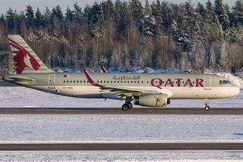 A7-AHQ - Qatar Airways Airbus A320