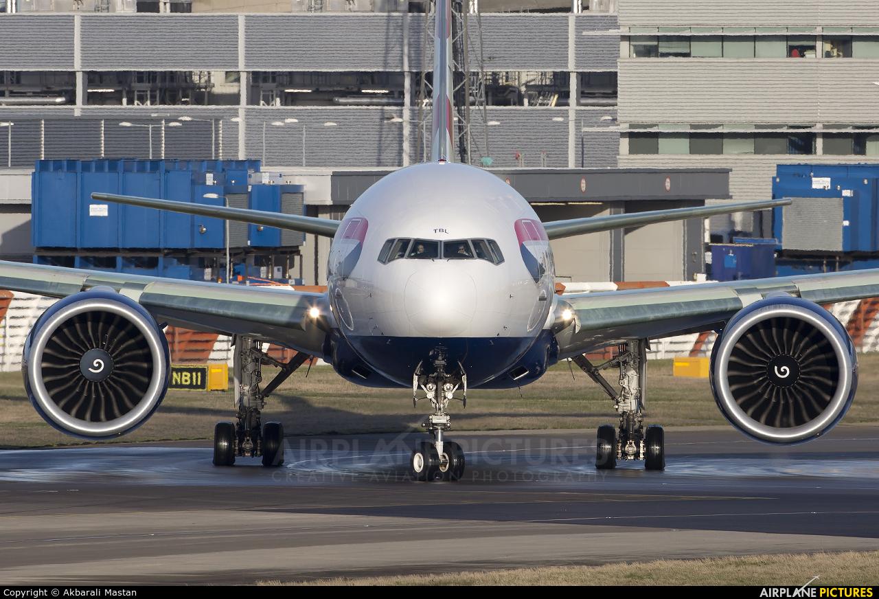 British Airways G-STBL aircraft at London - Heathrow