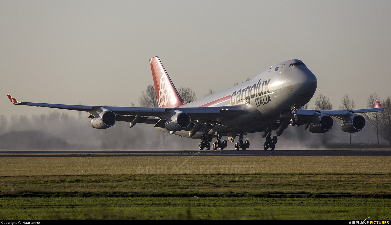 Cargolux LX-RCV aircraft at Amsterdam - Schiphol