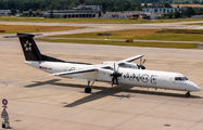 OE-LGO - Austrian Airlines/Arrows/Tyrolean de Havilland Canada DHC-8-400Q / Bombardier Q400 aircraft