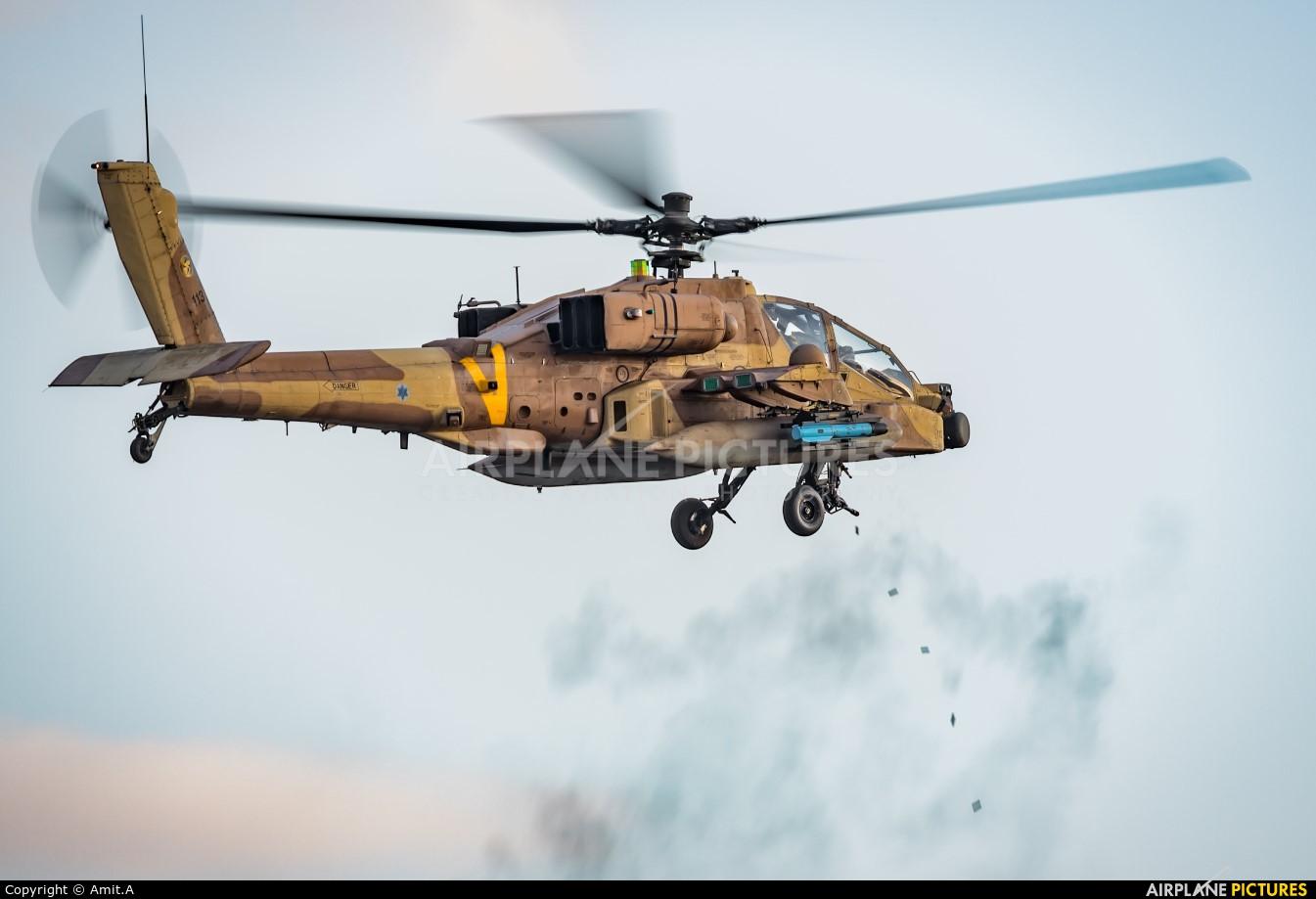 Israel - Defence Force 113 aircraft at Beersheba - Hatzerim