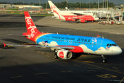 """Brand new special livery for Air Asia known as """"HongHe Nativeland"""" title="""