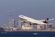 D-AIHP - Lufthansa Airbus A340-600 aircraft