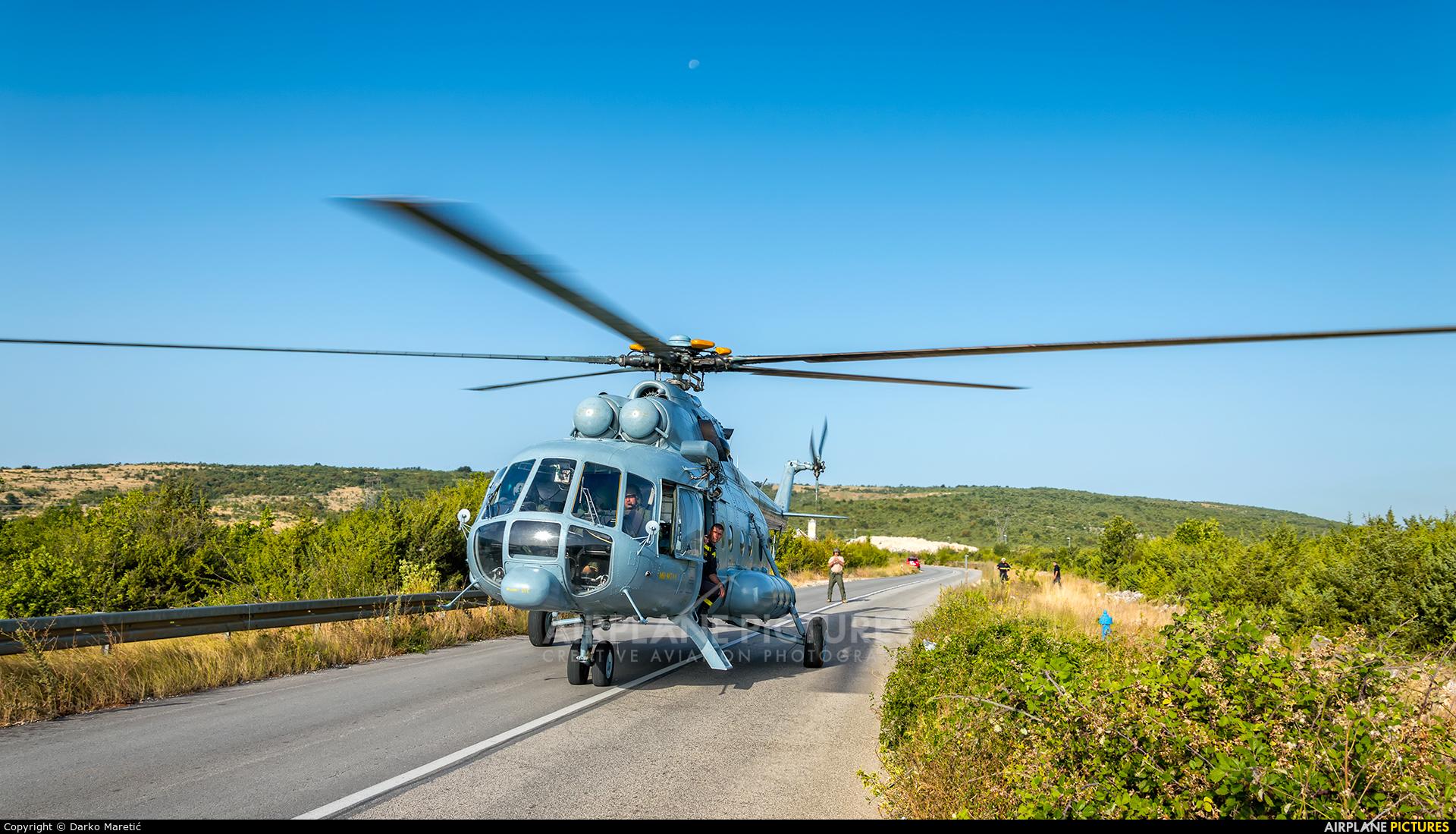 Croatia - Air Force 206 aircraft at Off Airport - Croatia