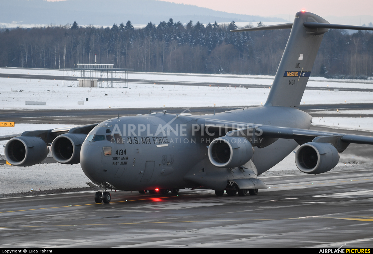 USA - Air Force 04-4134 aircraft at Zurich