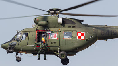 0419 - Poland - Air Force PZL W-3 Sokol