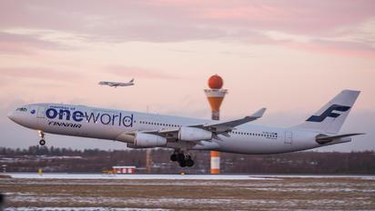 OH-LQE - Finnair Airbus A340-300