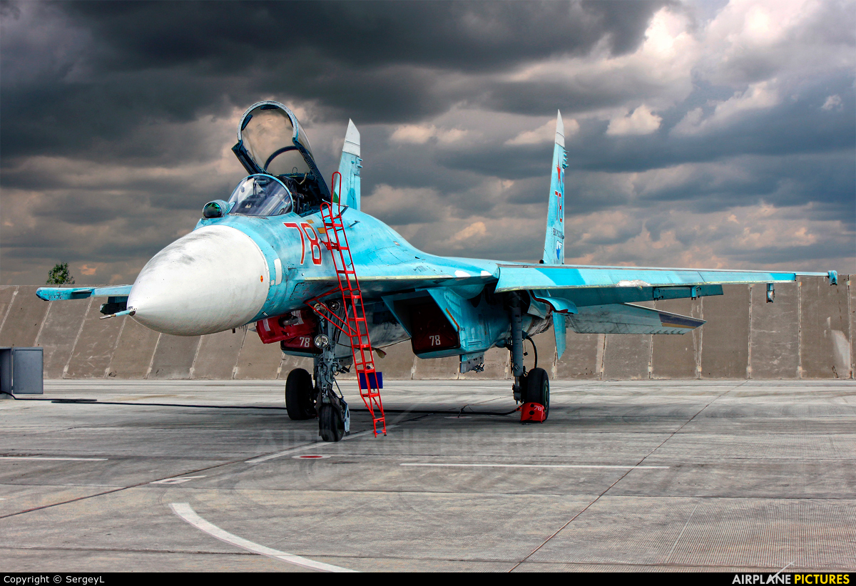 Russia - Air Force 78  RED aircraft at Lipetsk
