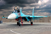 78  RED - Russia - Air Force Sukhoi Su-27SM aircraft