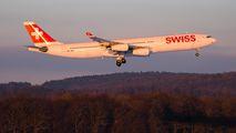 HB-JMM - Swiss Airbus A340-300 aircraft