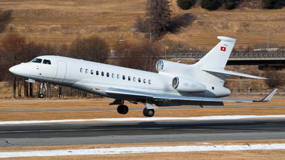 HB-JST - Cat Aviation Dassault Falcon 7X