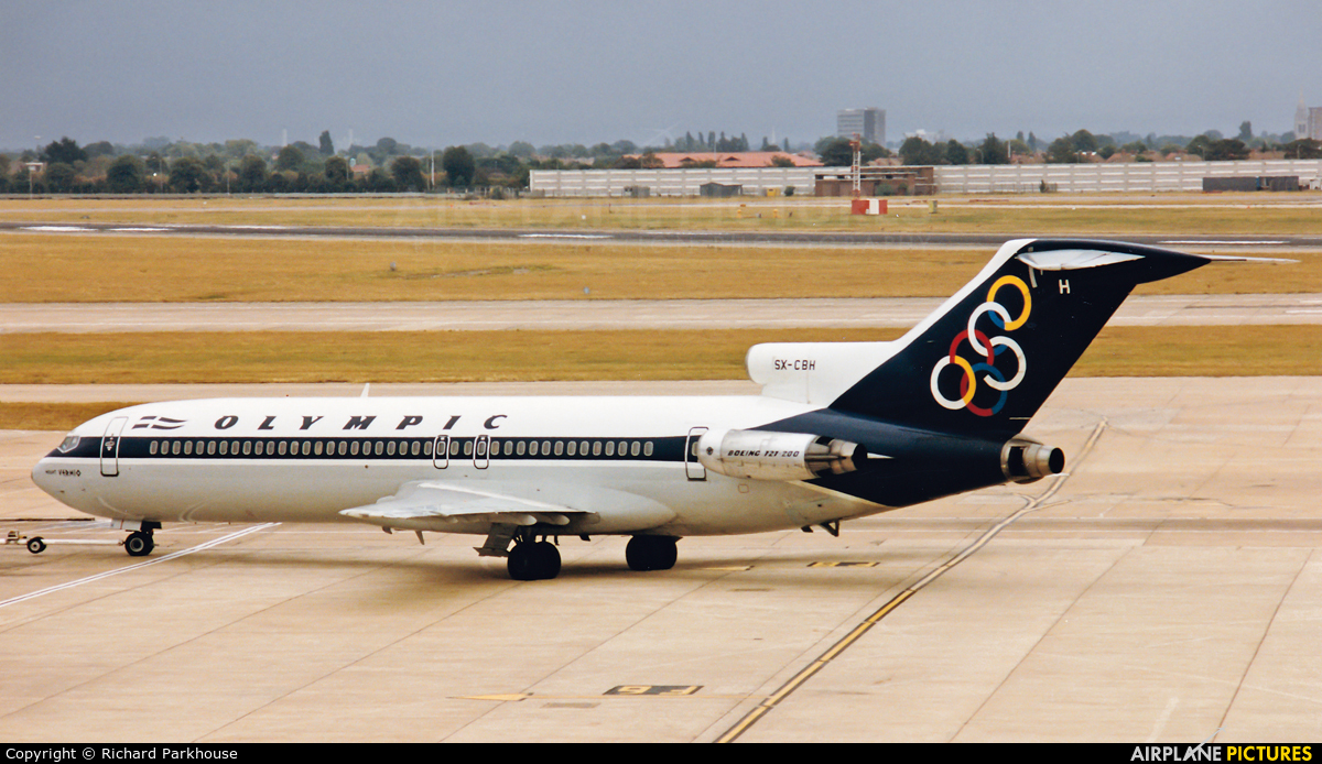 Olympic Airlines SX-CBH aircraft at London - Heathrow