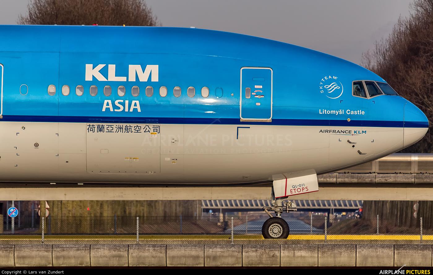 KLM Asia PH-BQL aircraft at Amsterdam - Schiphol