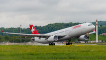 HB-JHB - Swiss Airbus A330-300 aircraft
