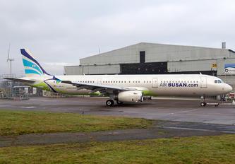 D-ANJA - Air Busan Airbus A321