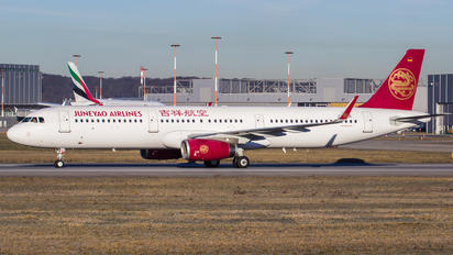 D-AVYR - Juneyao Airlines Airbus A321