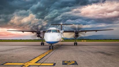 9A-CQF - Croatia Airlines de Havilland Canada DHC-8-400Q / Bombardier Q400