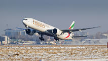 A6-EBD - Emirates Airlines Boeing 777-300ER aircraft