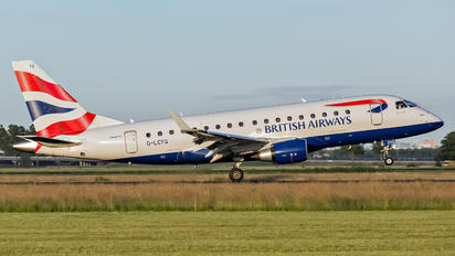 G-LCYG - British Airways - City Flyer Embraer ERJ-170 (170-100)