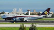 VQ-BSK - Qatar Amiri Flight Boeing 747-8 BBJ aircraft