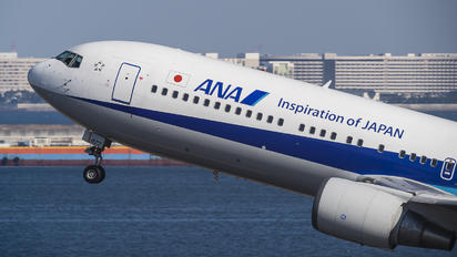 JA8677 - ANA - All Nippon Airways Boeing 767-300