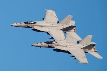 168466 - USA - Navy Boeing F/A-18E Super Hornet