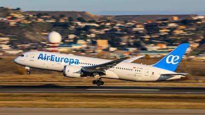 EC-MIH - Air Europa Boeing 787-8 Dreamliner