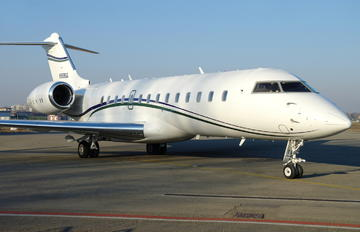 N988GG - Private Bombardier BD-700 Global 6000