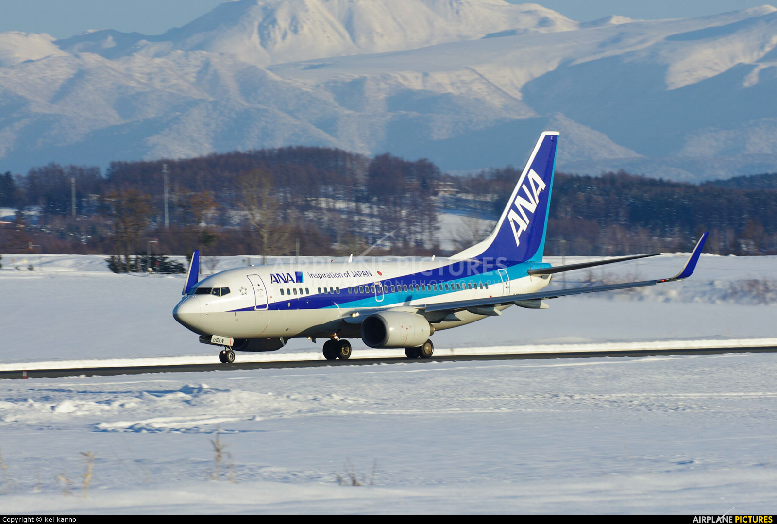 ANA - All Nippon Airways JA06AN aircraft at Asahikawa