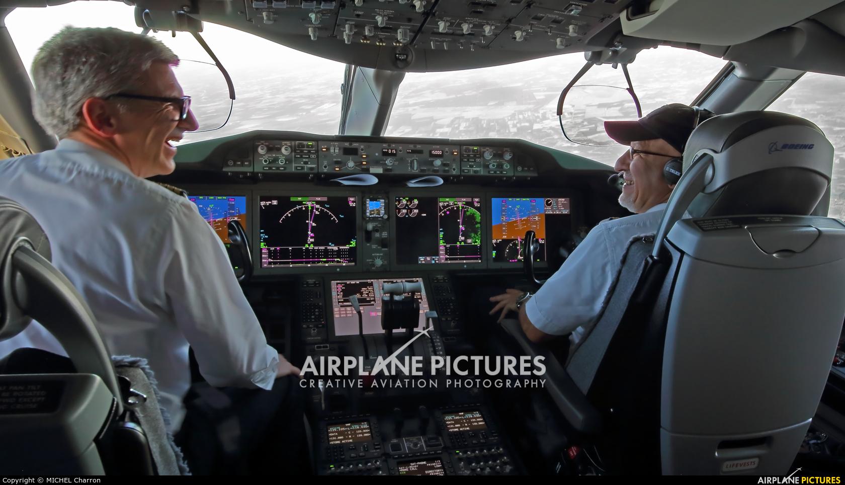 Air France F-HBRA aircraft at In Flight - France