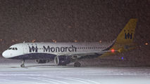 G-ZBAT - Monarch Airlines Airbus A320 aircraft