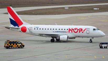 F-HBXI - Air France - Hop! Embraer ERJ-170 (170-100)