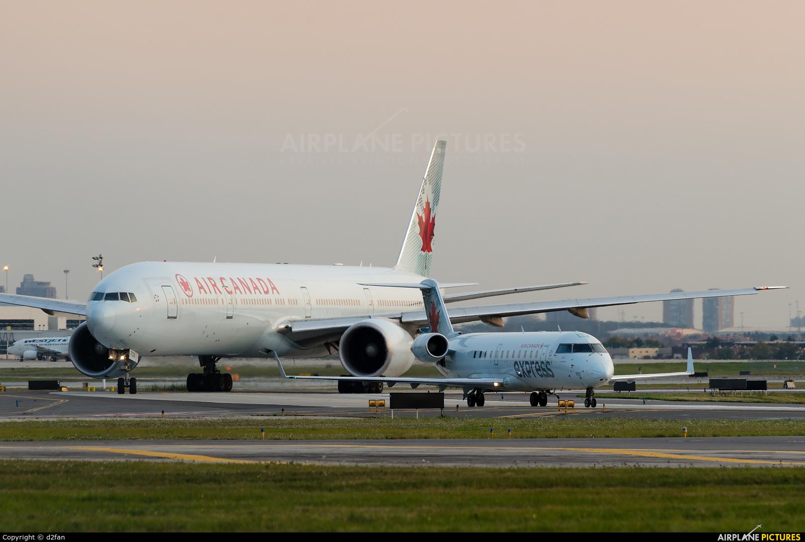 Air Canada Express C-FWRR aircraft at Toronto - Pearson Intl, ON