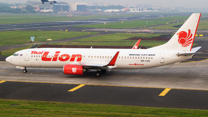 HS-LUQ - Thai Lion Air Boeing 737-800