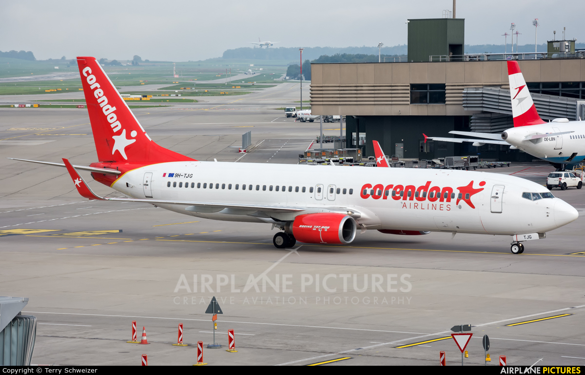 Corendon Airlines 9H-TJG aircraft at Zurich