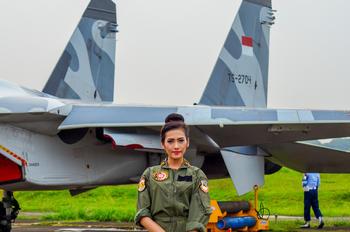 TS-2704 - Indonesia - Air Force Sukhoi Su-27