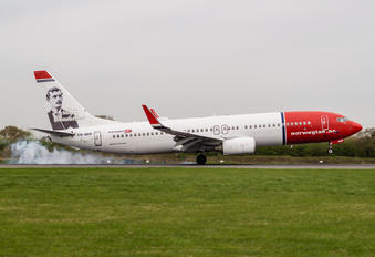 LN-NOF - Norwegian Air Shuttle Boeing 737-800